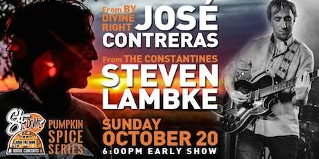 José Contreras & Steven Lambke Winnipeg House Concert tickets