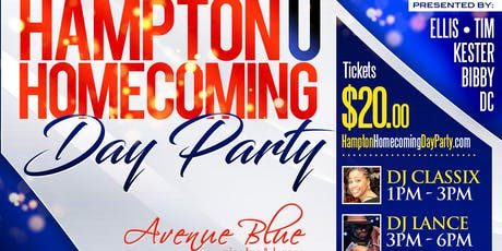 4th Annual Hampton U homecoming Day Party tickets