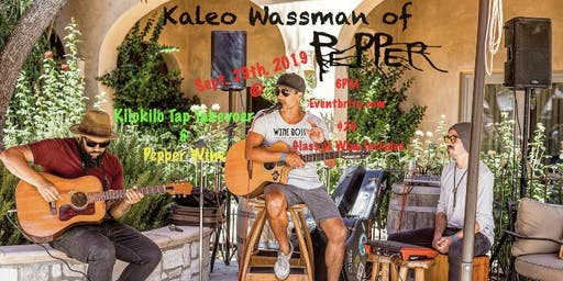 An Evening with Kaleo Wassman of Pepper at Wine Boss