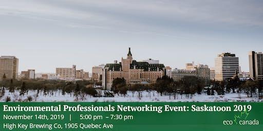 Environmental Professionals Networking Event: Saskatoon 2019