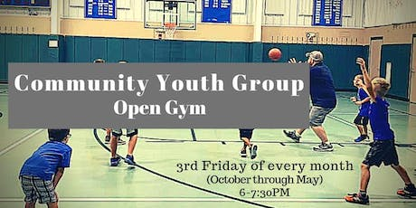 Community Youth Group Open Gym tickets