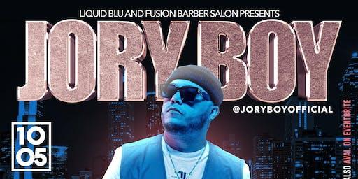 LIQUID BLU & FUSION BARBER SALON PRESENTS JORY BOY
