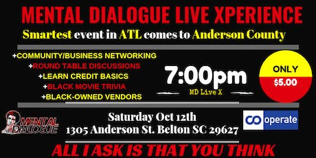 MENTAL DIALOGUE LIVE XPERIENCE in South Carolina tickets