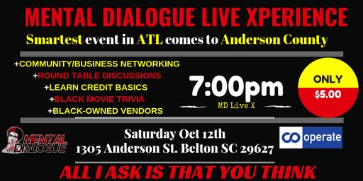 MENTAL DIALOGUE LIVE XPERIENCE in South Carolina
