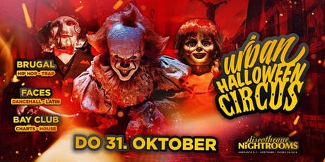 Urban Horror Circus x Dortmunds legendäre Halloween Nacht Tickets