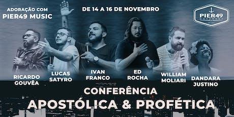 Conferência Apostólica & Profética - Pier49 Vinhedo ingressos