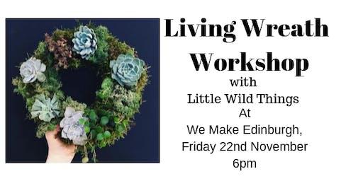 Festive Living Wreath Workshop
