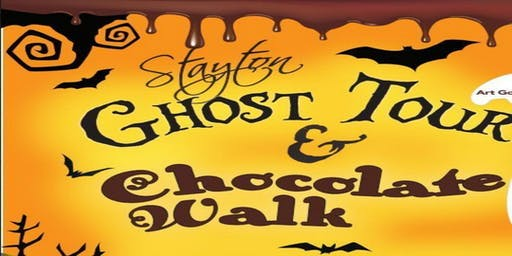 3rd Annual Stayton Ghost Tour and Chocolate Walk