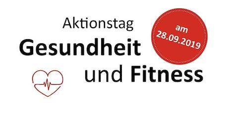 Fitness- und Gesundheitstag im größten Personal Training Studio Deutschland Tickets