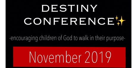 Destiny Conference 2019 tickets