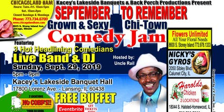 September To Remember Comedy Jam tickets