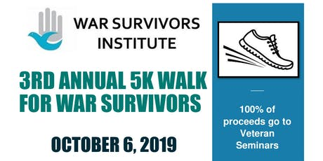Walk For War Survivors tickets
