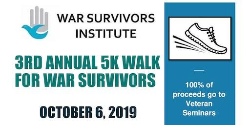 Walk For War Survivors