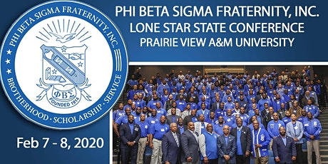 2020 Phi Beta Sigma - Lone Star State Conference tickets