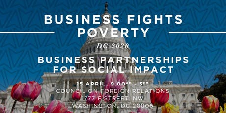 Business Fights Poverty DC 2020 tickets