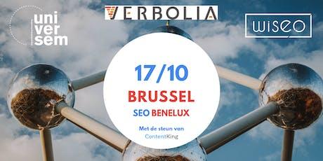 SEO Benelux Meetup Brussel '19: Local SEO billets