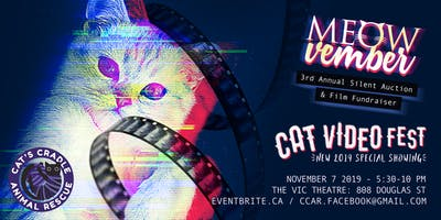MEOW-Vember: 3rd Annual Silent Auction and Film Fundraiser