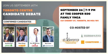 Toronto Centre Candidate's Debate tickets