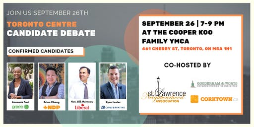 Toronto Centre Candidate's Debate