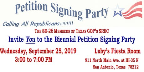 Petition Signing Party tickets