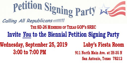 Petition Signing Party