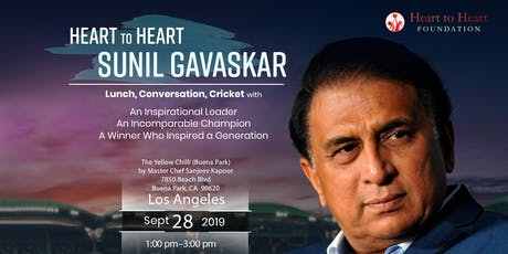 Heart to Heart with Sunil Gavaskar tickets