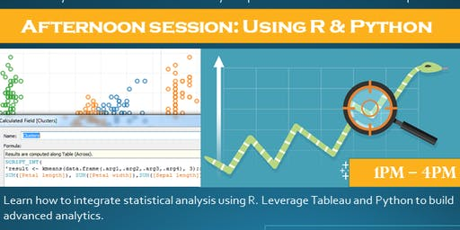 Using R & Python with Tableau - afternoon session