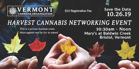 Harvest Cannabis Networking Event tickets