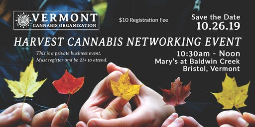 Harvest Cannabis Networking Event