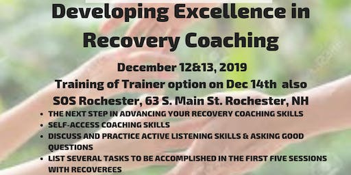 SOS Developing Excellence in Recovery Coaching with TOT