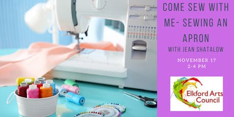 COME SEW WITH ME - Sewing an Apron with Jean Shatalow tickets
