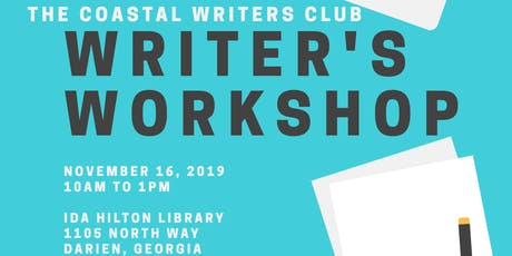 Coastal Writer's Workshop tickets