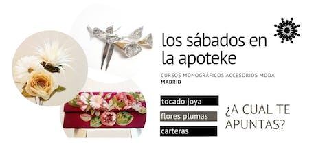Cursos monográficos de acesorios de moda en Madrid de un dia de duración entradas