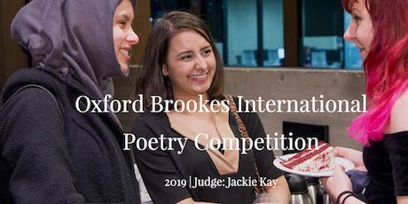 Oxford Brookes International Poetry Competition Awards Evening tickets