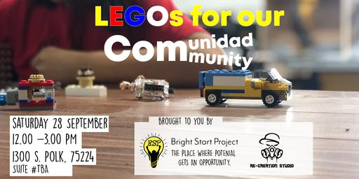 LEGOs for our comunidad and community