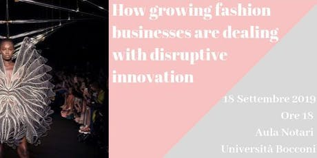 How growing businesses are dealing with disruptive innovation biglietti