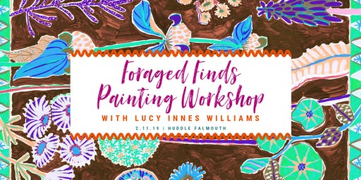 Foraged Finds Autumn Painting Workshop with Lucy Innes Williams