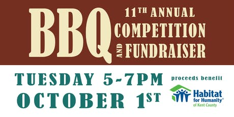 Habitat for Humanity BBQ Competition & Fundraiser tickets