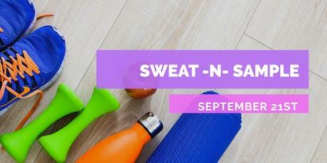 Sweat 'n Sample tickets