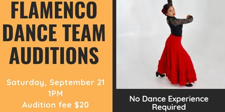 Flamenco Dance Team Auditions  tickets