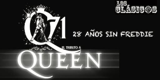 """""""Q71"""" - EL MEJOR TRIBUTO A QUEEN """"28 AÑOS SIN FREDDIE"""""""