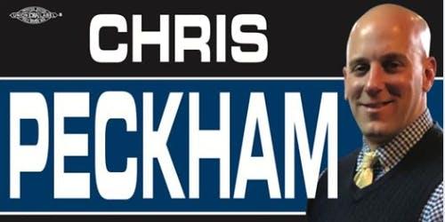 Fundraiser for Chris Peckham for City Council