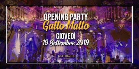 Gattopardo Milano Giovedi 19 Settembre 2019 X Info 392-9848838 tickets