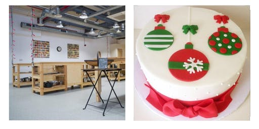 Christmas Cake Making Class Leeds