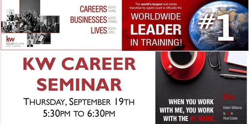 Keller Williams Career Seminar