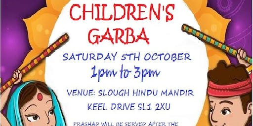 Slough Mandir Children's Raas Garba