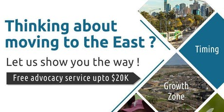 Property Seminar - Thinking about moving from the West to the East? tickets