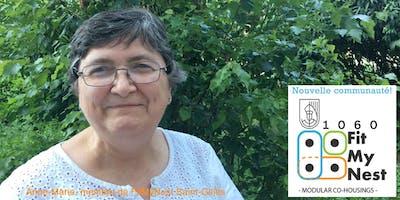 Habitat groupé: rencontre pour la communauté FitMyNest de Saint-Gilles