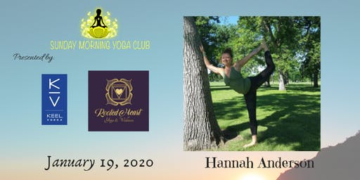 SMYC 1/19 at Rooted Heart Yoga and Wellness!  Hannah Anderson is Teaching!
