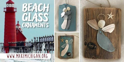 Beach Glass Ornaments - Grand Rapids